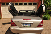 New Price2003 Mercedes-Benz leather Convertible with Lambo Doors
