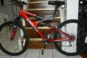 STYLISH Large Mountain Bike- DOUBLE SHOCKS -Upto 6 Feet