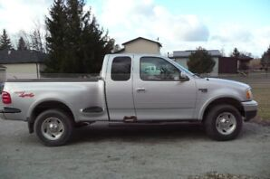 2000 Ford F150 Flare side, XLT, Super Cab, 4WD