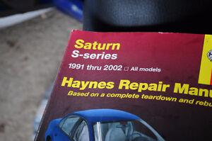 Saturn S series Hanyes Manual Peterborough Peterborough Area image 1
