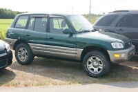 1999 Toyota RAV4 4WD LOADED 4CYL SUV, Crossover with 4 mags