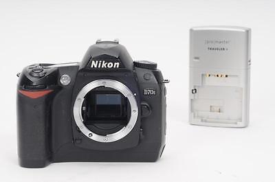 Nikon D70s 6.1MP Digital SLR Camera Body (w/Battery & Charger)               #JC