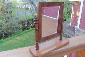 Vintage Vanity Dressing Tabletop Mirror--swivels!