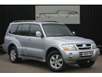 Mitsubishi Shogun 3.2 DI-D Elegance Auto 7 Seats + Nav + Sunroof + Heated Leathe