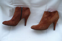 Italian suede sexy high heel ankle boots Size EU 39(8 US)