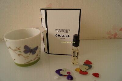 "LES EXCLUSIFS DE CHANEL "" BEL RESPIRO "" EAU de PARFUM Mini spray 1,5  ml NEUF"