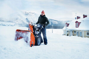 Husqvarna Snowblowers, Mail In-Rebates/Extended Warranty!