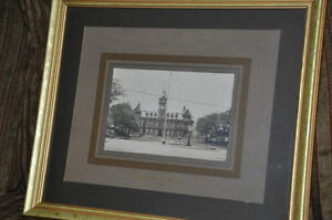 TWO 'LOCAL' MARITIME FRAMED VINTAGE PHOTOS