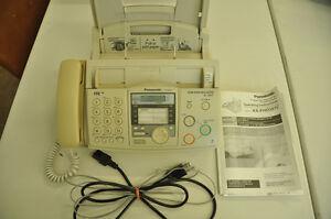 Panasonic phone/fax with answering machine