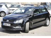 2014 Volkswagen Polo 1.0 BlueMotion Tech SE (s/s) 3dr