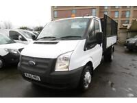 2012 FORD TRANSIT 350/125 SINGLE CAB ALLOY CAGE TIPPER WITH ONLY 41.000 MILES,6