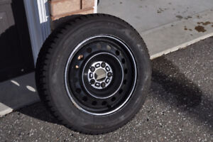 "16 "" Snow tires with Rims for sale"