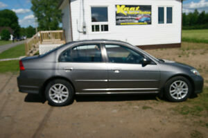 2005 Honda Civic loaded Sedan