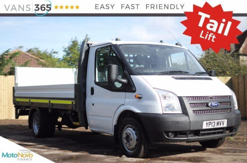 Ford Transit 13.77FT ONE STOP ALLOY DROPSIDE WITH TAIL LIFT 350 DRW CHOICE OF 4