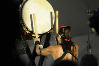 Japanese Drum (Wadaiko) solo performance for your party!