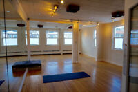 Movement Studio Rental Available on Quinpool