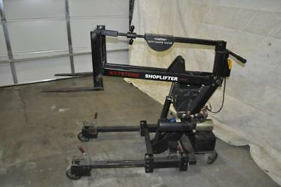 600 Lb Keystome Shoplifter Lift Truck 18 Forks 51 Lift Height 20 Telescope 12
