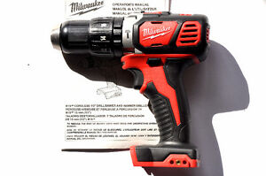 """NEW! Milwaukee M18 Compact 1/2"""" Hammerdrill/Driver TOOL ONLY!"""