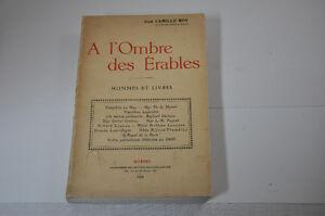A l'ombre des érables Camille Roy 1924 COLLECTIONNEUR