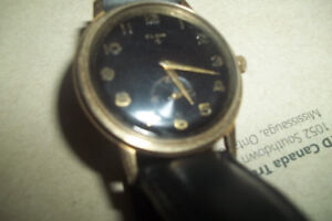 Vintage watches(one is Gold) & Silver rings
