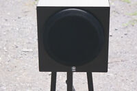 "yamaha YST-SW012 8"" compact subwoofer"