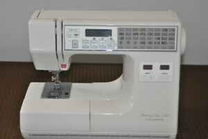 Janome Memory Craft 7000 sewing machine in beautiful condition.