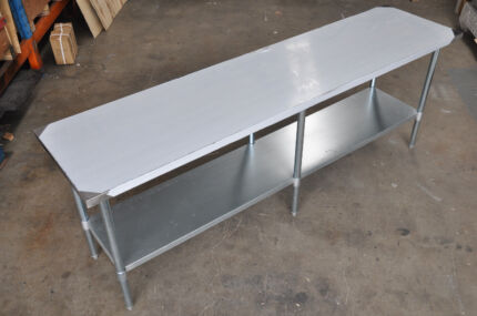 NEW 2134MMX610MM 304 STAINLESS CATERING FOOD PREPARATION TABLE Wetherill Park Fairfield Area Preview