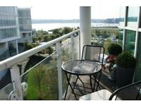 **Stunning Waterfront 2 bedroom flat in Cardiff Bay with new carpets throughout**