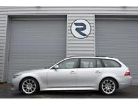 2007 57 BMW 5 SERIES 2.0 520D M SPORT TOURING 5D AUTO 175 BHP DIESEL