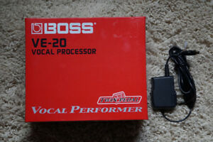 Boss VE-20 Vocal Processor - Like New Condition