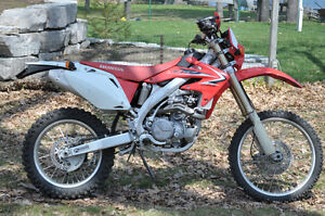 2009 Honda CRF450x BLUE PLATED road legal enduro low hours Clean