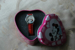 Mickey/Minnie Watch in Collector Tin