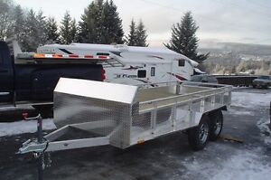 14' aluminium quad trailer Prince George British Columbia image 2