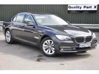 2012 BMW 7 Series 3.0 730d SE (s/s) 4dr