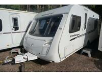 2010 SWIFT CHALLENGER 540 4 BERTH CARAVAN - FIXED BED - CORNER WASHROOM - LOVELY