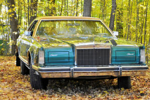 1977 Lincoln Continental MARK V édition Givenchy