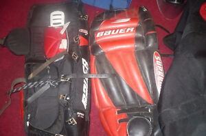 Used Goalie Gear  (adult) 400 or OBO  pictures  attached
