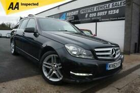 2013 MERCEDES C-CLASS C180 BLUEEFFICIENCY AMG SPORT 1.6 PETROL AUTOMATIC ESTATE
