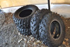 Set of ATV Tires