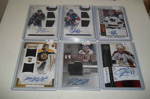 Autograph Rookie Cards !! Upper Deck,Panini Individually Priced!