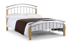 Brand new, boxed king size bed frame