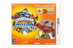 New Skylanders Giants Portal Owner Pack (Nintendo 3DS)