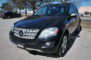 2009 Mercedes ML320 DIESEL-ALL WHEEL DRIVE-NO ACCIDENT-CERTIFIED