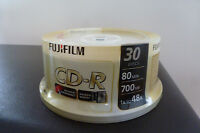 30 New Fuji CD-Rs - 80 min.