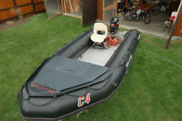 14 FT BOMBARD INFLATABLE- PRISTINE CONDITION