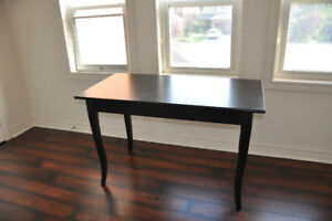 Desk, dark brown