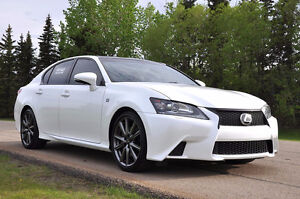 2013 Lexus GS350 AWD F-Sport LOW KMS - FULLY LOADED - UPGRADES!!