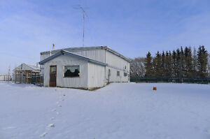 Comercial Land with Home or Office you choose! In Innisfail!