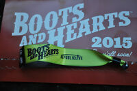 boots and heart unregistered ticket