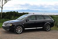 2005 Audi Allroad cuir/2 tons/noir & gris Familiale